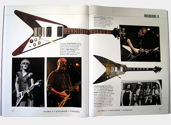 [Flying V - Explorer - Firebird, spread]