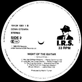 [Night of the Guitar GER LP label]