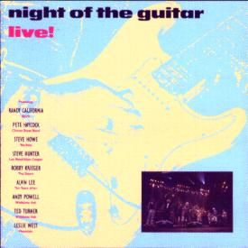 [Night of the Guitar CD cover art, front]